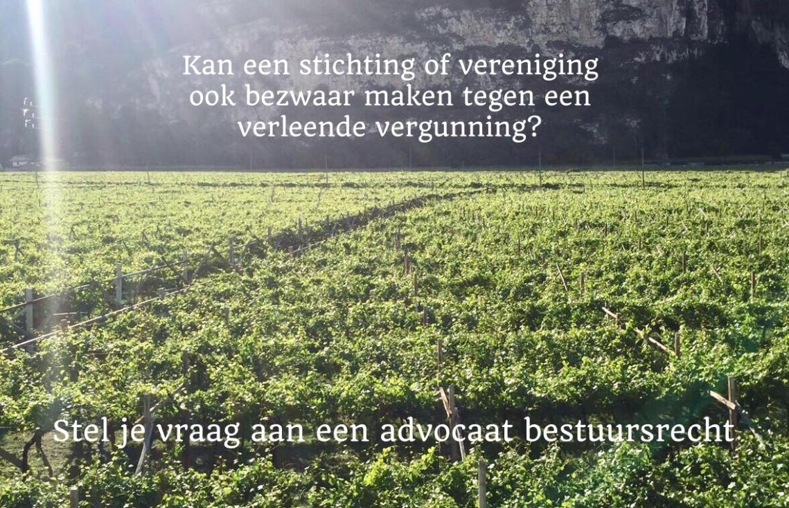 Advocaat Bestuursrecht Mark van Weeren bezwaar vergunning
