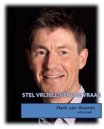 advocaat bestuursrecht Mark van Weeren