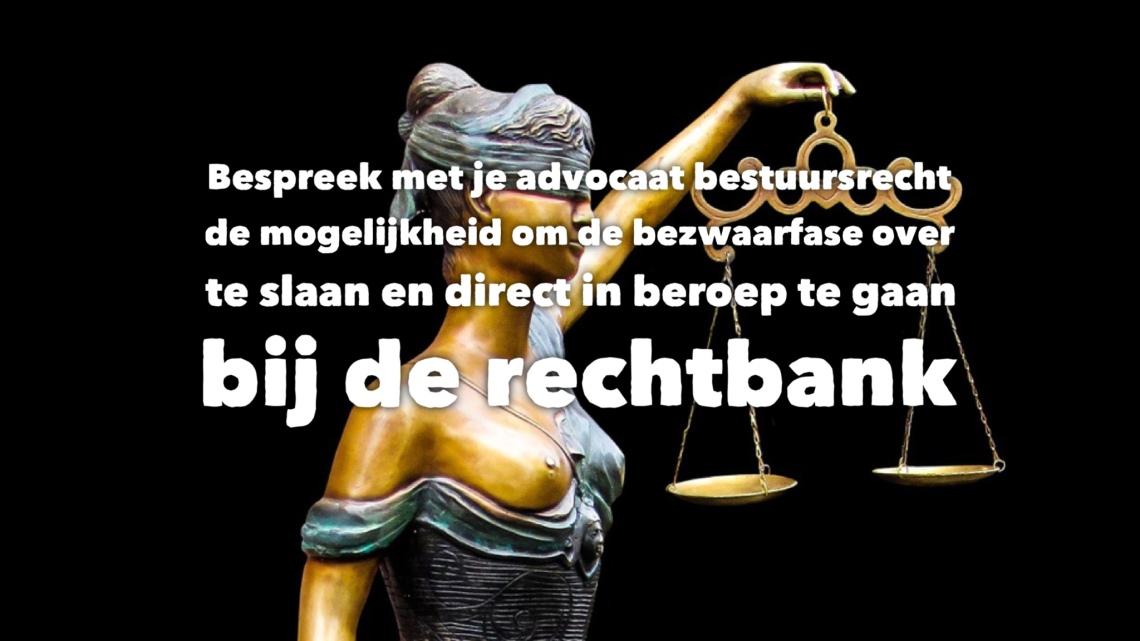 Beroep besluit rechtbank advocaat bestuursrecht